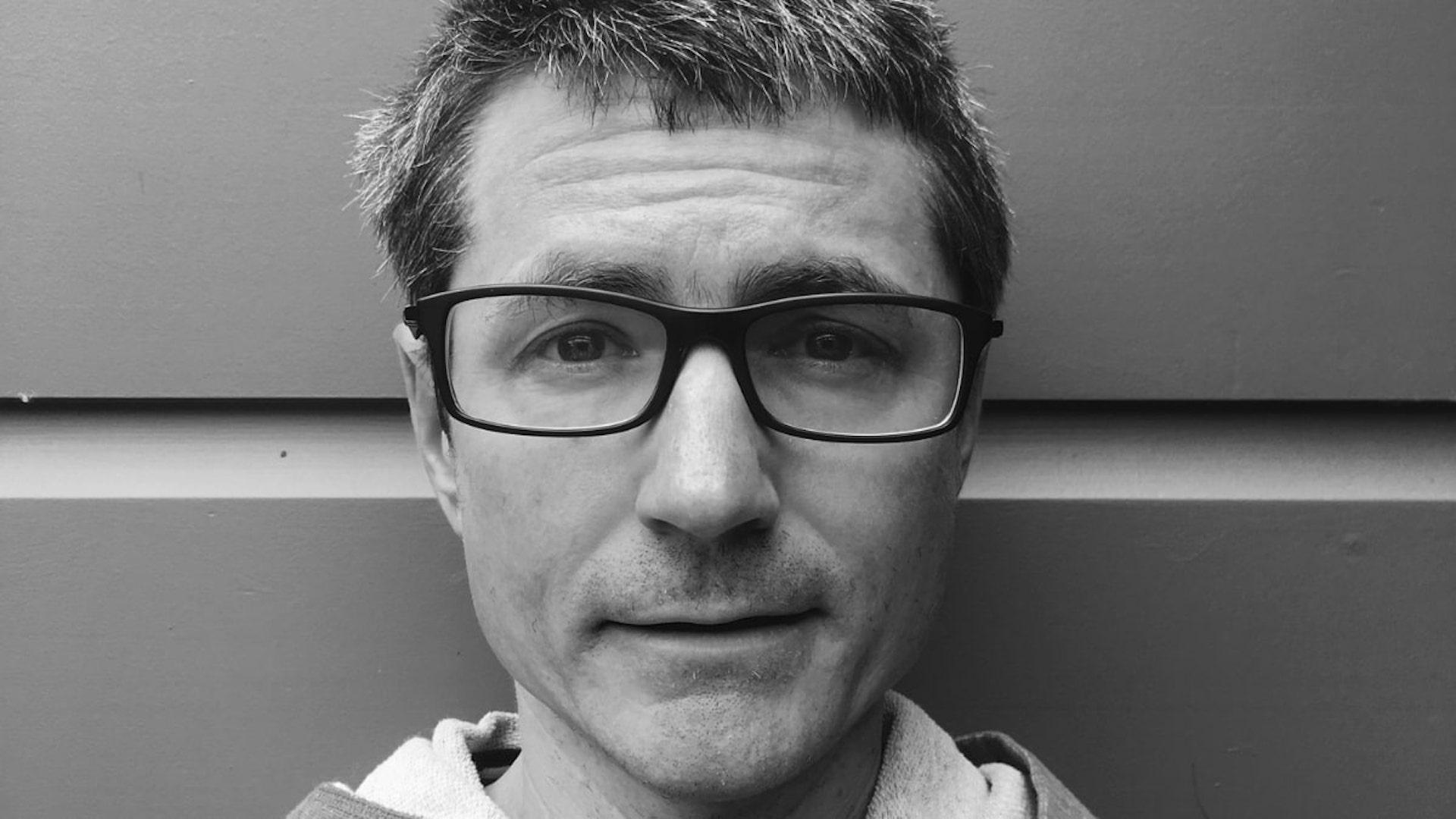 Black and white photo of John Cutler.